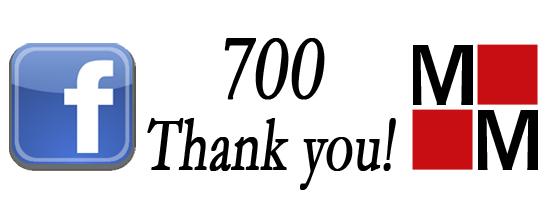 Friday Promotion - 700 Thank You! The blog of Martineau & Mindicanu
